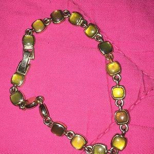 Bracelet yellow tones Liz Claiborne